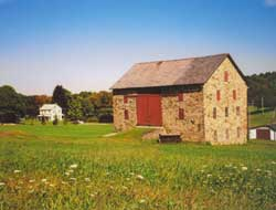 Forebay Barn, Berks County PA, barn history reports