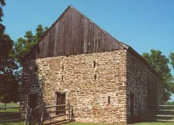 Hecklar Stone and Frame Ground Barn, Grundscheier, Montgomery County PA